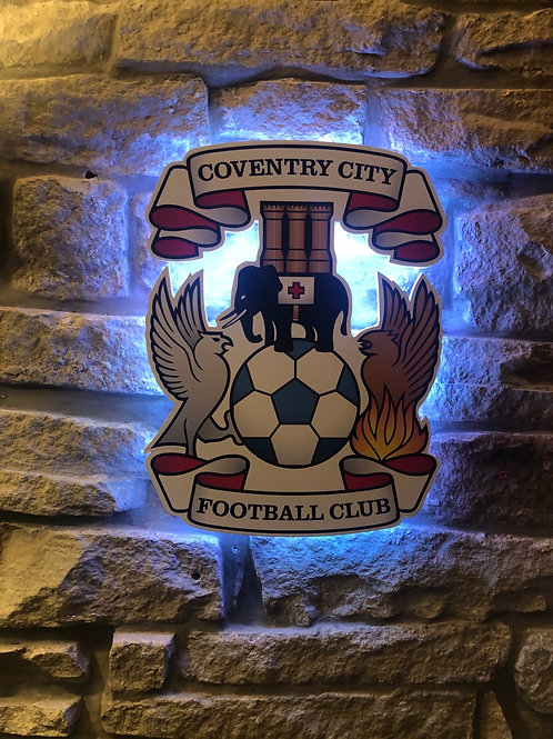 imake Coventry City FC Wall Light
