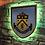 Thumbnail: imake Burnley F.C. Wooden Wall Light