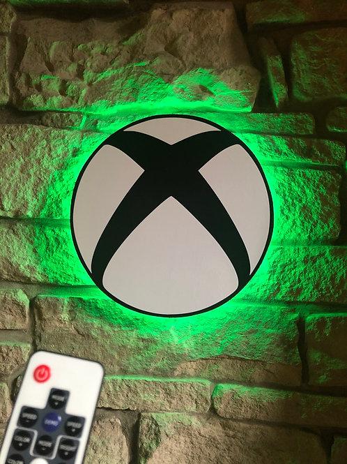 Handmade Wooden XBOX 2020design, Wall Light