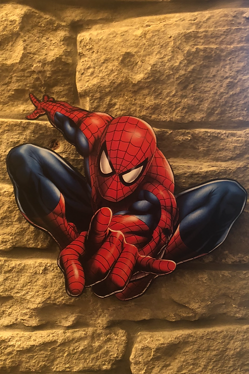 Spider Man Character Cut out