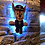 "Thumbnail: PawPatrol ""Chase"" Wall Light"