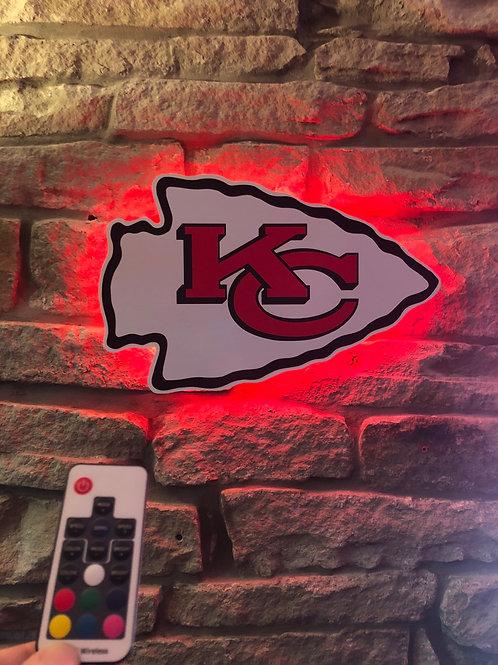 imake NFL Kansas City Chiefs ARROW Wall Light