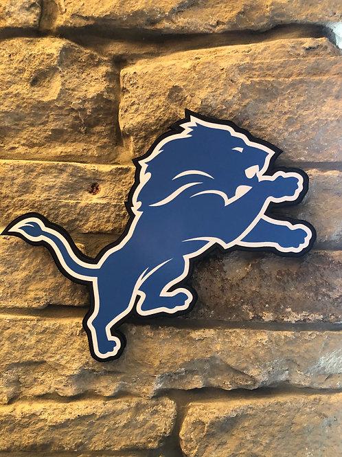 imake NFL Detroit Lions Wall Logo