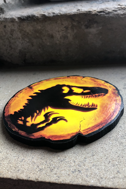 "Jurassic Park ""Dominion"" Wooden Coasters"