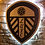 Thumbnail: Special Edition Black & White Leeds United Wooden Wall Light