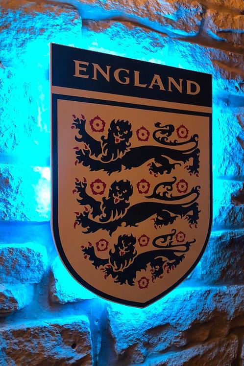 England National Football Team Wall Light