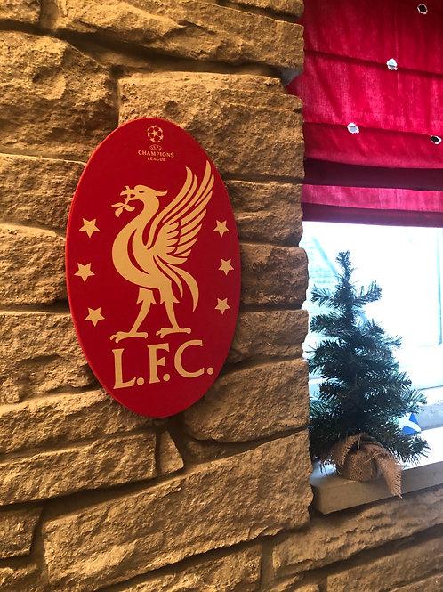 imake Liverpool FC MDF Wall Badge