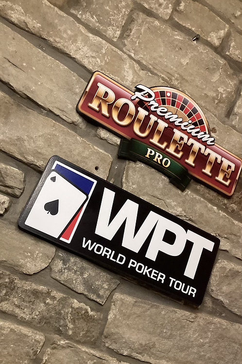 Adult Games Night Poker & Roulette Wall Set