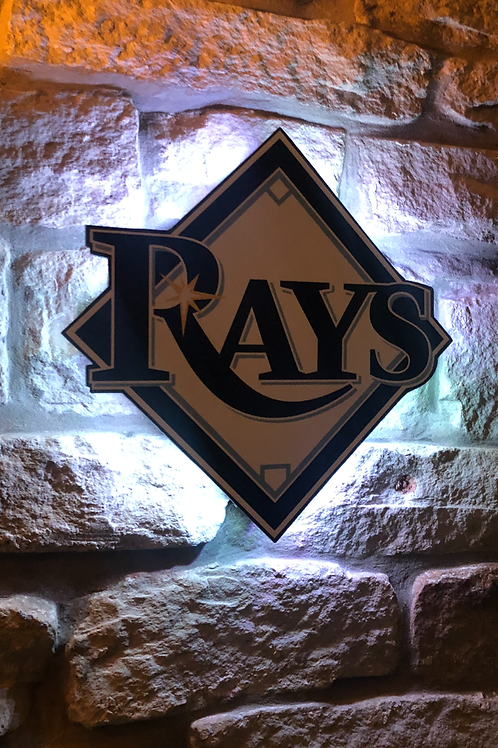 MLB Tampa Bay Rays Wall Light
