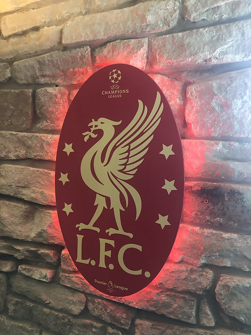imake Liverpool European Champions Wall Light with remote control