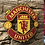 Thumbnail: Imake Manchester United FC wooden badge