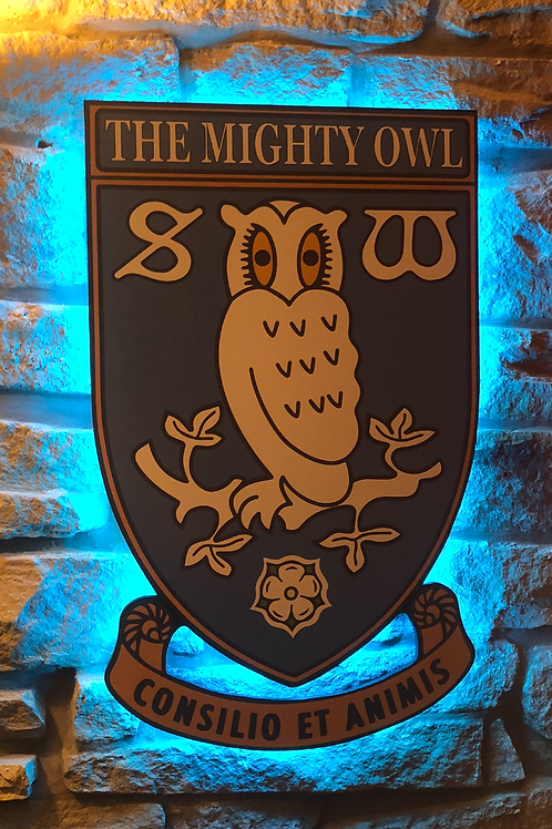 Personalised Sheffield Wednesday Wall Light