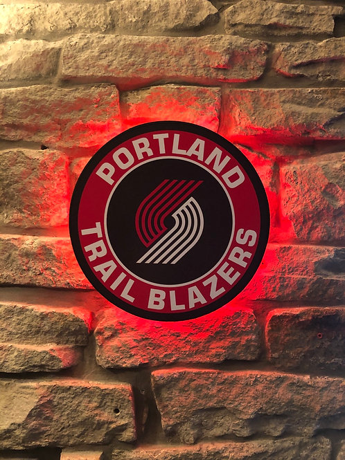 imake NBA Portland Trail Blazers Wall Light