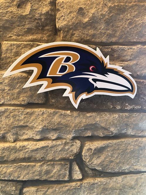 imake NFL Baltimore Ravens 2020 Ravens Head Badge