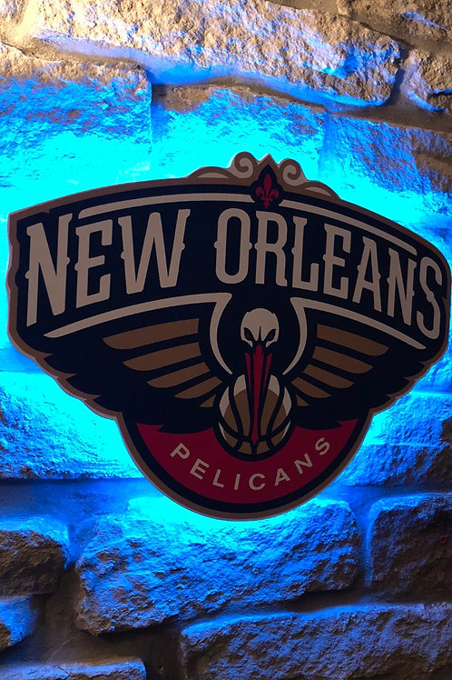 imake NBA New Orleans Pelicans Wall Light with remote control