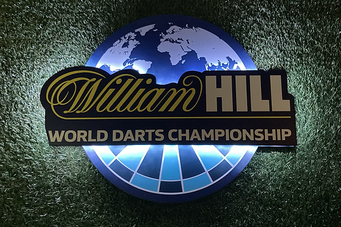 Darts World Championship William Hill Wall light