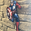 Thumbnail: Captain America Wooden Action Character Cut out..