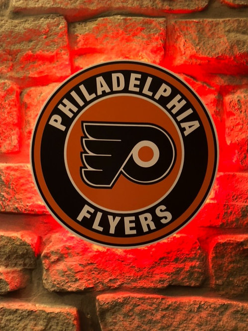 imake NHL Philadelphia Flyers Wall Light (Remote Control Operating included)