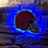 Thumbnail: imake NFL Cleveland Brown's Wall Light with remote control