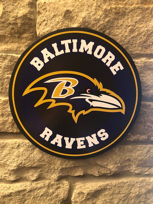 imake NFL Baltimore Ravens Wall Badge