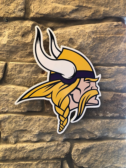 imake NFL Minnesota Vikings 2020 Viking Head Badge