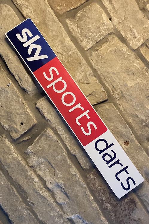 Modern Sky Sports Darts wooden wall Sign