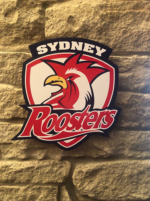 imake NRL Sydney Roosters RL Wall Badge