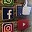 Thumbnail: Handmade Wooden Social Media Logo Pack