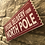 """Thumbnail: Christmas """"Special Delivery from the NORTH POLE Wooden Ticket"""
