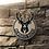 Thumbnail: imake NBA Milwaukee Bucks Wooden Wall Badge