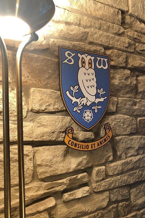 Sheffield Wednesday MDF Wall Badge
