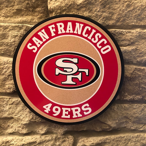 imake NFL San Francisco 49ers Wall Badge