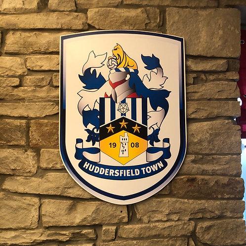 Huddersfield Town MDF Wall Badge