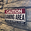 Thumbnail: Caution Gaming Wooden Wall Plaque