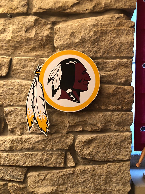 imake NFL Washington Redskins Wooden 2020 logo