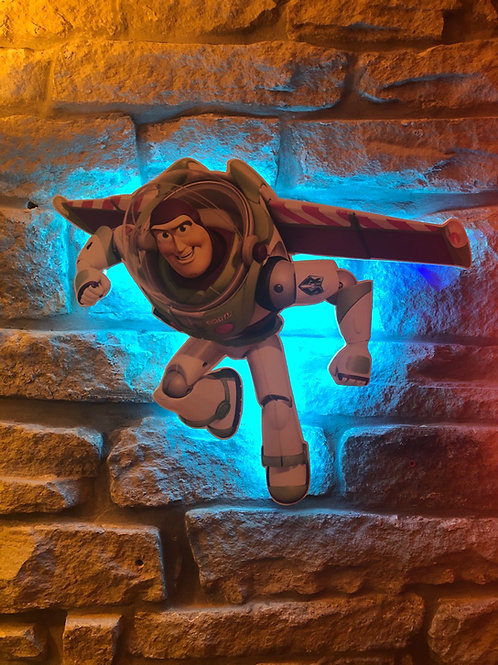imake Buzz Lightyear Wall Light (Remote Control included)
