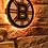 Thumbnail: imake NHL Boston Bruins Wooden Wall Light