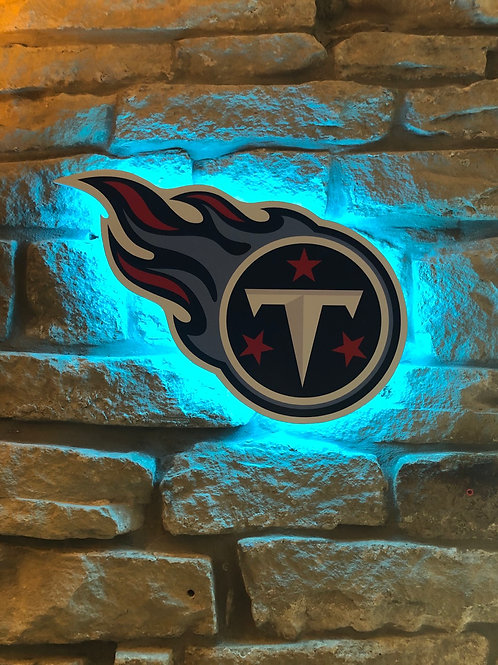 imake NFL Tennessee Titans 2020 Logo Wall Light