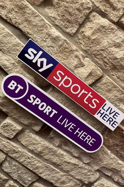 MODERN NEW Sky Sports & NEW BT Sports Live Here