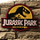 Thumbnail: Jurassic Park Wooden Wall Badge