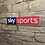 Thumbnail: Modern New Style Sky Sports Network Wall Sign