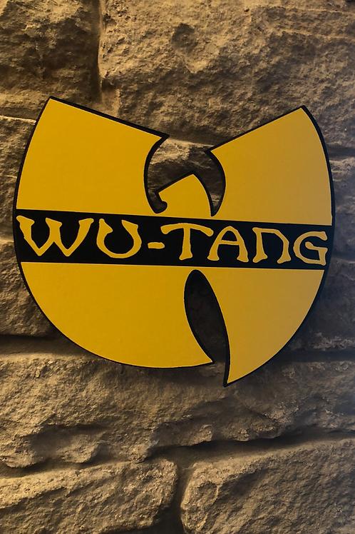 Wu-Tang Clan Handmade Wooden Logo