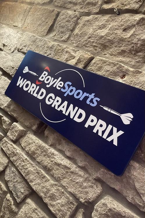 BoyleSports World Grand Prix Darts Plaque