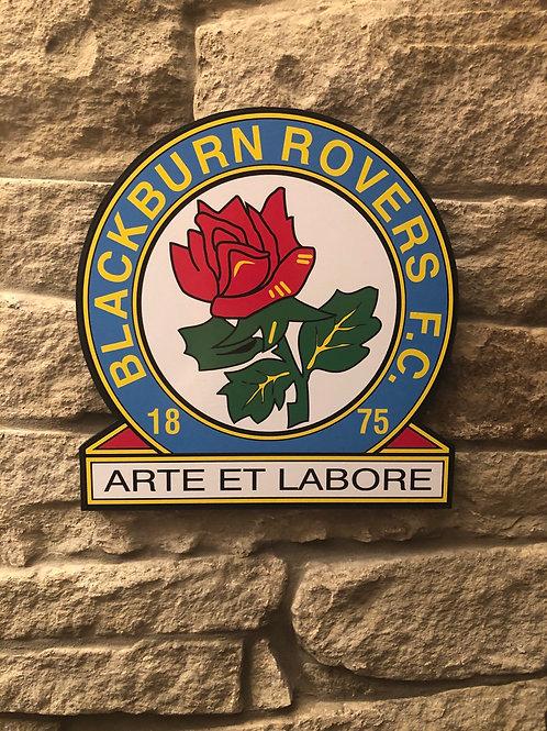 imake Blackburn Rovers FC Wooden Badge
