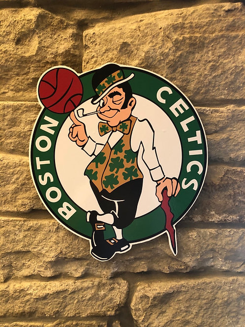 imake NBA Boston Celtics Wall Badge