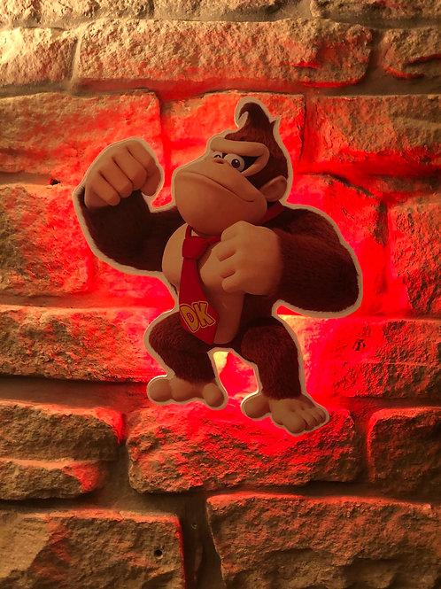 imake Donkey Kong Character Wall Light