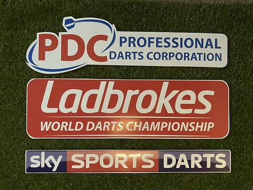 Pro Home Retro Darts Ladbrokes Wall Set