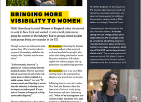 Bringing More Visibility to Women