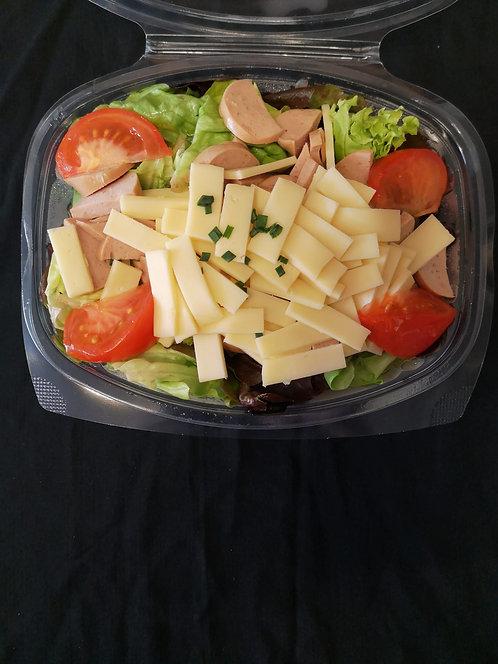Wurst-Käse-Salat