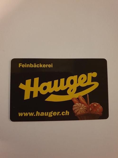 Gutschein Hauger